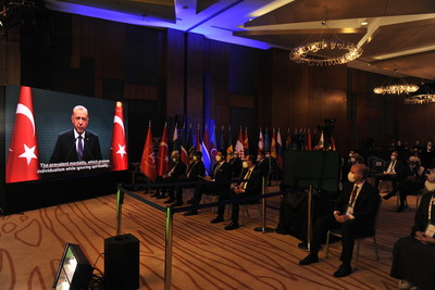 President of Turkey Recep Tayyip Erdoğan sent a video message to the 4th Ethnosport Forum.