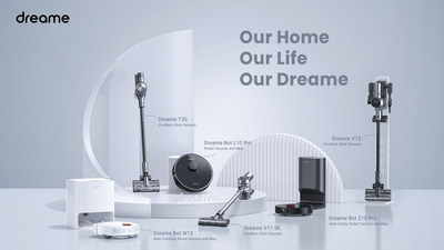 Dreame to Launch the Next Generation Smart Home Cleaning Products on May 8