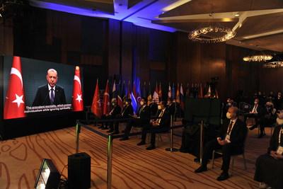 President of Turkey Recep Tayyip Erdoğan sent a video message to the 4th Ethnosport Forum.