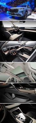 Apariencia y diseño interior del HAVALH6 de 3.ª generación (PRNewsfoto/HAVAL)