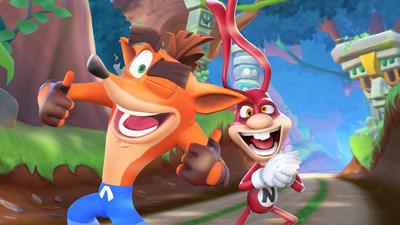 """Además de irrumpir en las pantallas de televisión, Noid se unirá al nuevo lanzamiento de la serie de juegos Crash Bandicoot, """"Crash Bandicoot: On the Run!"""", este 7 de mayo."""