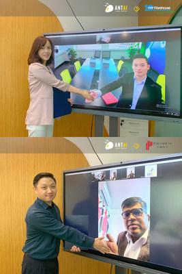 Antaisolar online signing ceremony