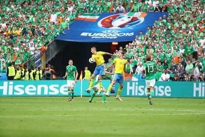 Hisense sponsored EURO 2016 and EURO 2020 consecutively