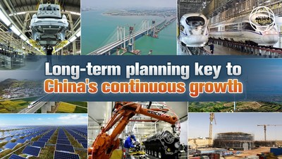 CGTN:Long-term planning key to China's continuous growth