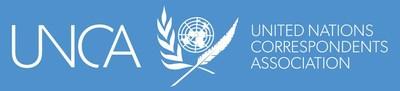 United Nations Correspondents Association Logo