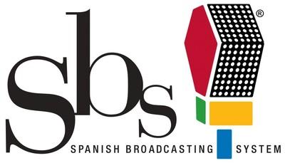 Spanish Broadcasting System Inc. logo.